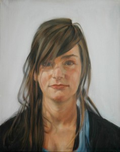 eline - future, 2010, oil on canvas, 55x70cm