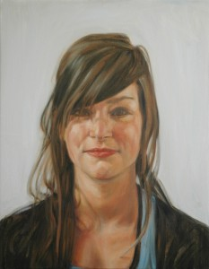 eline - mother, 2010, oil on canvas, 55x70cm