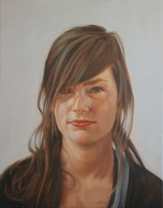 eline - sex, 2010, oil on canvas, 55x70cm