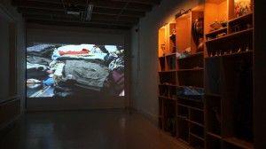 TRACINGS, film Things -Time and Furniture with Things, Installation view, Lokaal 01 Breda, 2012