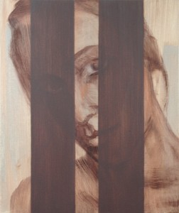 sibylle 2, 2009, oil on canvas, 50x65cm